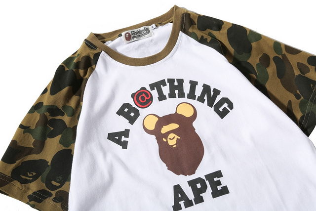 Bathing ape shirt cheap