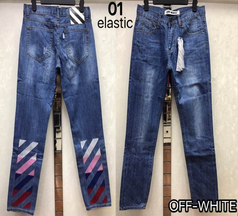Cheap OFF WHITE Jeans wholesale No. 4