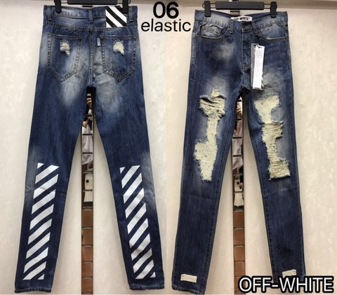 Cheap OFF WHITE Jeans wholesale No. 5