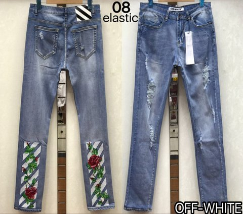 Cheap OFF WHITE Jeans wholesale No. 6