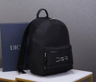 cheap quality Christian Dior backpack Oblique 93306 all black