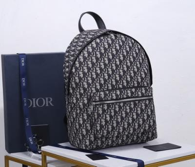 cheap quality Christian Dior backpack Oblique 93328 classic pattern
